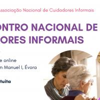 Banner 3º Encontro Nacional de Cuidadores Informais