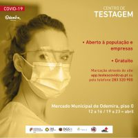 Testagem à Covid-19_Odemira